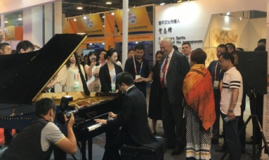 """工匠精神民族文化品牌""""长江钢琴""""从这里走向世界"""