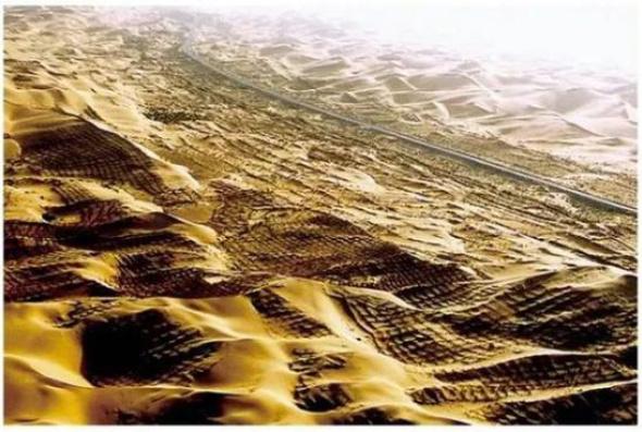 """沙尘暴源头如今变成这样 还挖掘出一个大""""金矿"""""""