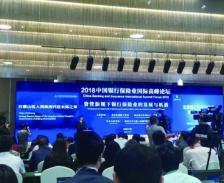 首届中国银行保险业 国际高峰论坛成功举办