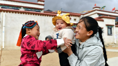In Tibet: Relocated shepherds embrace new life in Lhasa